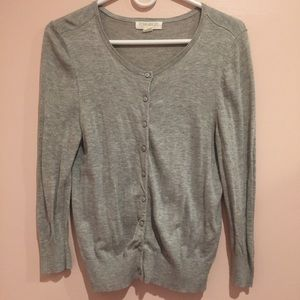Forever 21 grey cardigan ; size L